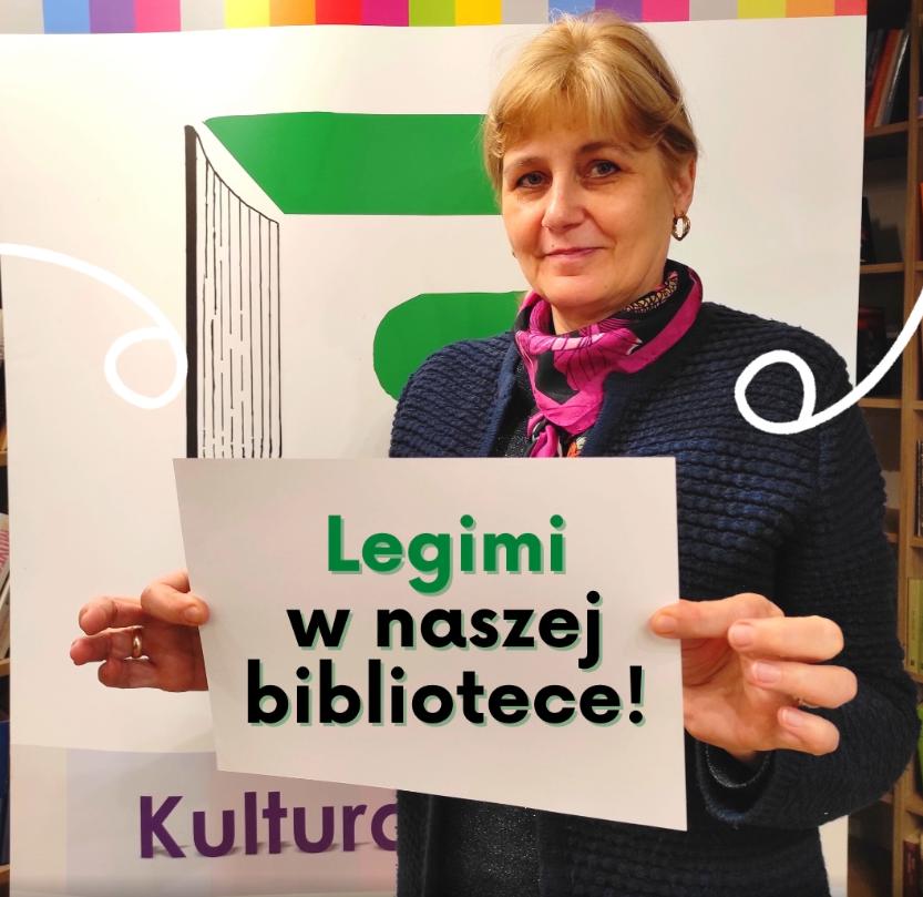 Bożena Trubiłowić - Legimi w naszej bibliotece!