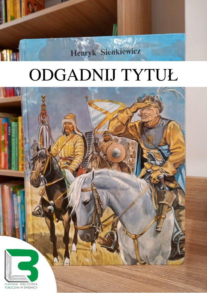 Książka Henryka Sienkiewicza