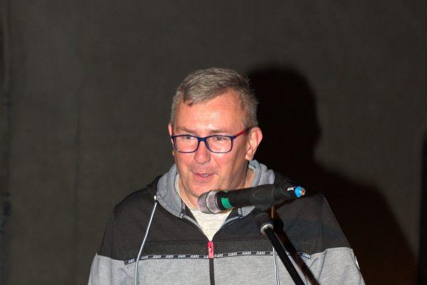Piotr Łabiak przemawia