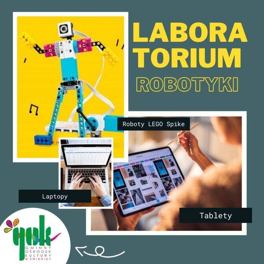 Grafika przedsawiająca robota lego
