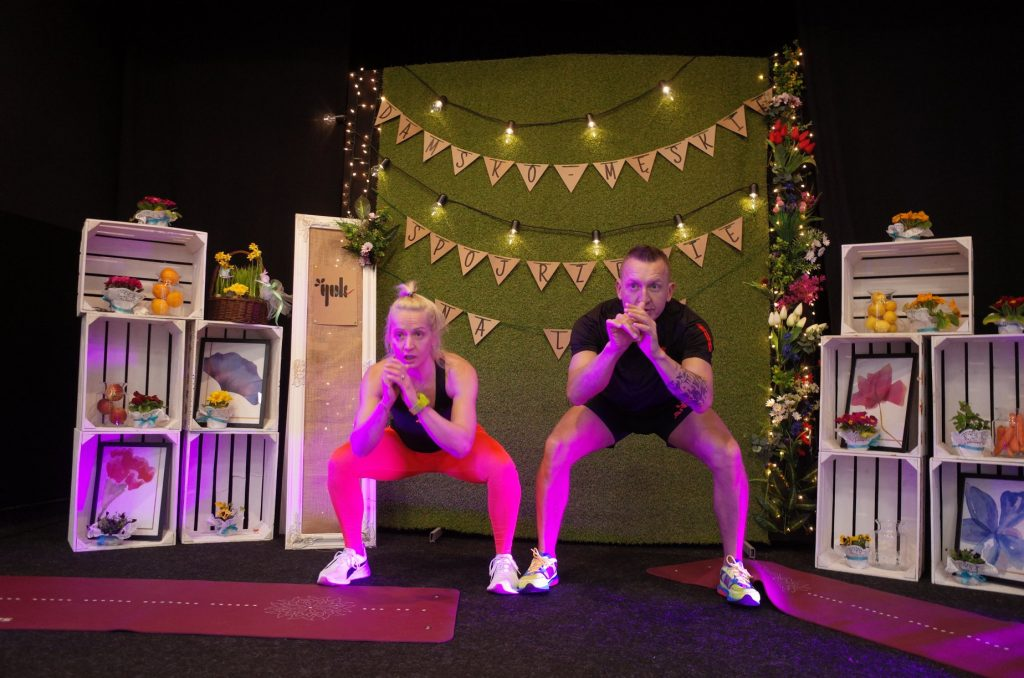 Alicja Marczak i Paweł Lepa prowadzą fitness